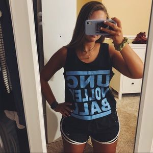 Tops - UNC Volleyball Tank Top
